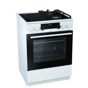 Готварска печка (ток/газ) Gorenje KC6355WT*** , 2 газ 2ток , 600/850/600 ш/в/д mm, 71